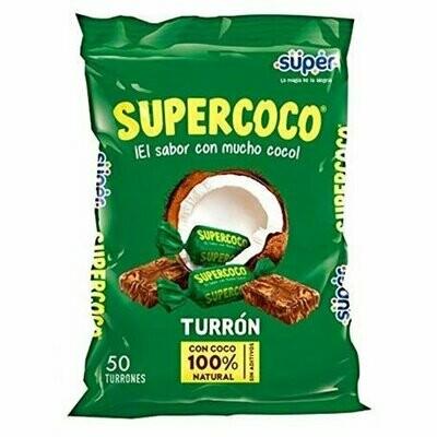 Super Coco 50 Unidades Turron 275G
