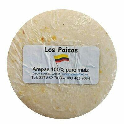 Los Paisas Arepa Maiz 5 Ct