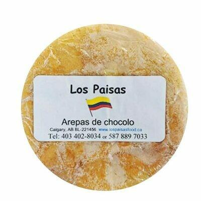 Los Paisas Arepa Chocolos 5 Ct