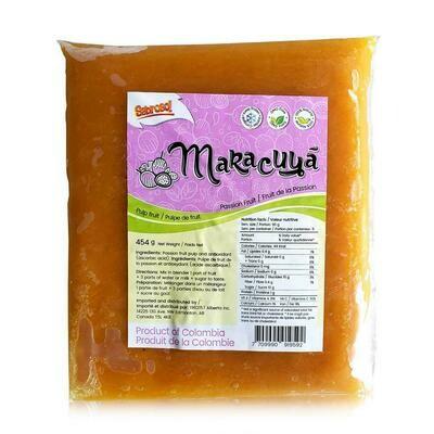 Sabroso Maracuya pulpa14 oz
