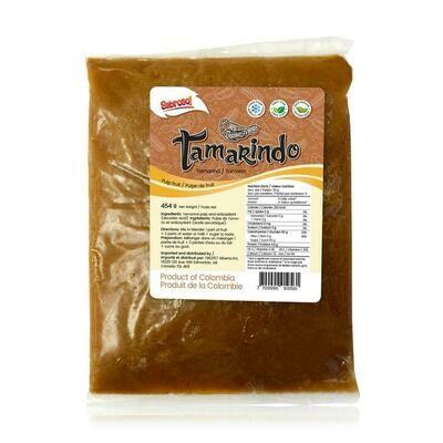 Pulpa de tamarindo Sabroso 454 g