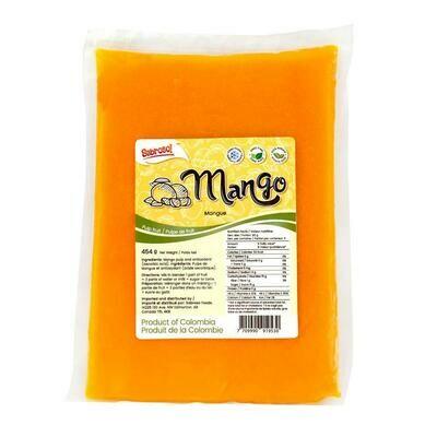 Sabroso Mango Frozen 454 G
