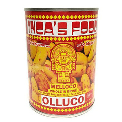 Incas Food Olluco Entero 20 oz