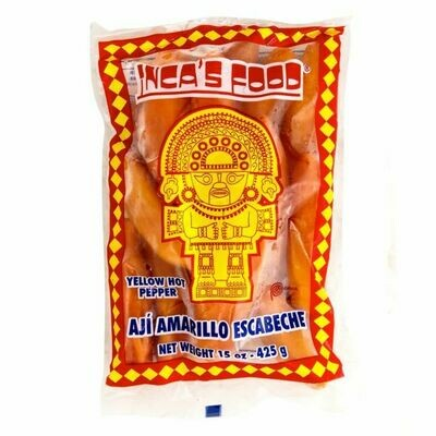 Inca's Food Yellow Pepper Frozen 425g