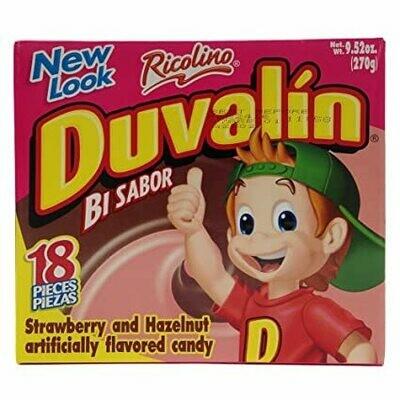 Duvalin Strawberry and Halzenut 18 Pieces