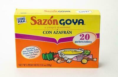 Sazon Goya Con Azafran  100g