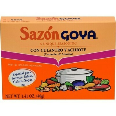Sazon Goya Con Culantro Y Achiote
