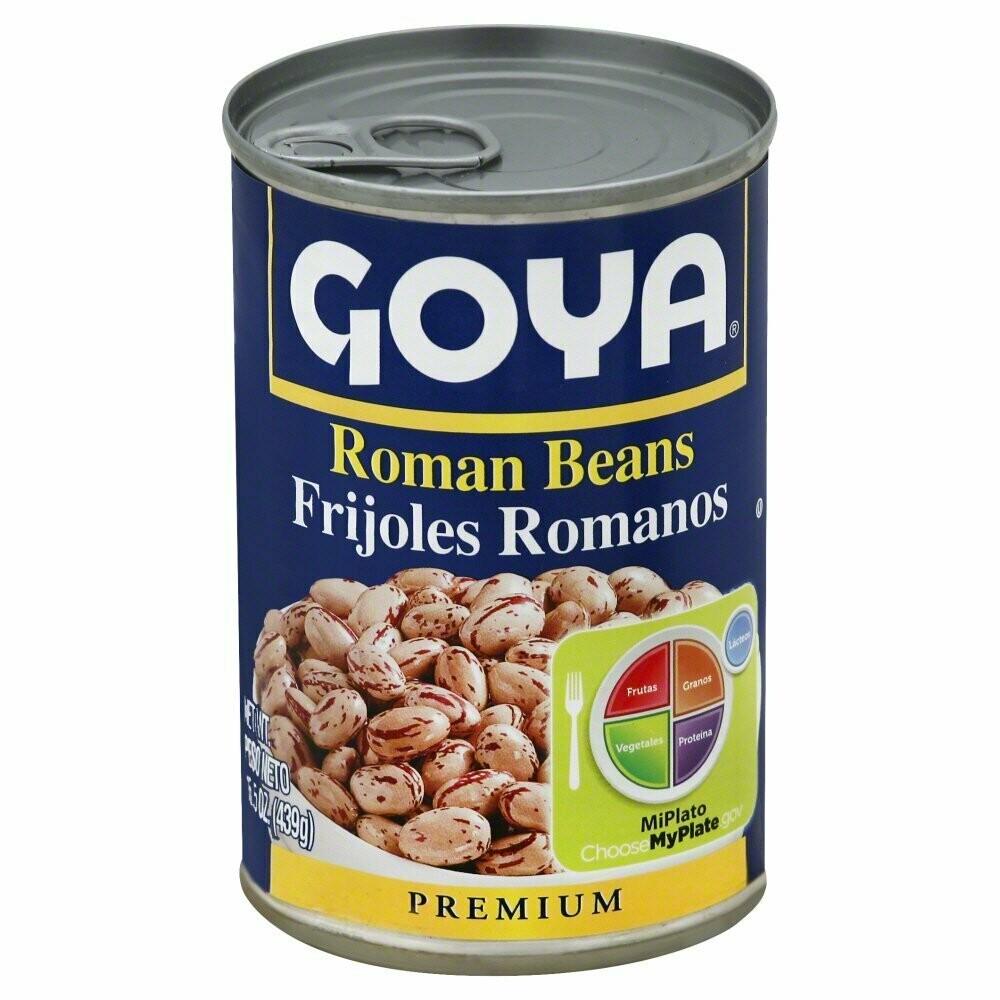 Goya Roman Beans 15.5oz
