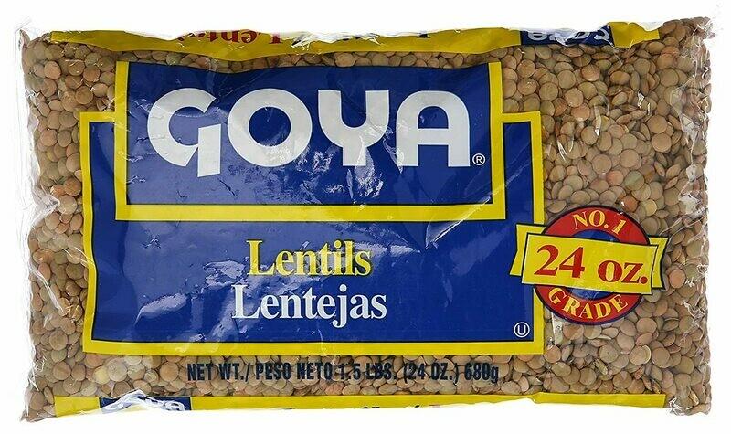 Goya Lentils 24 oz