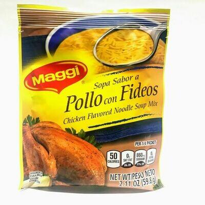 Sopa Sabor A Pollo Con Fideos 59.8g