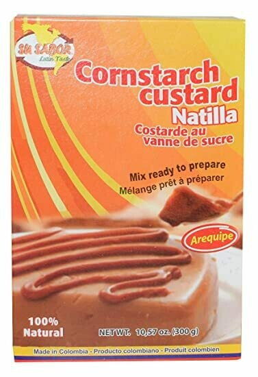 Su Sabor Cornstarch Custard Natilla 300 Gr