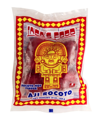Incas Food Rocoto Hot Pepper Frozen 15 oz