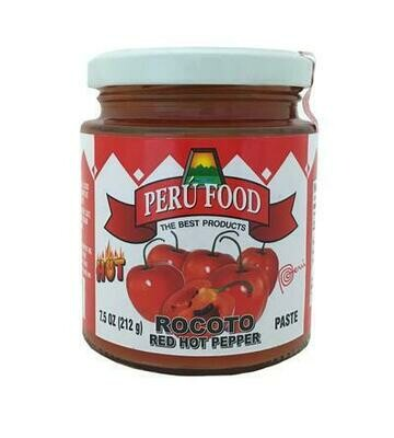 Peru Food Red Hot Pepper 7.5 oz