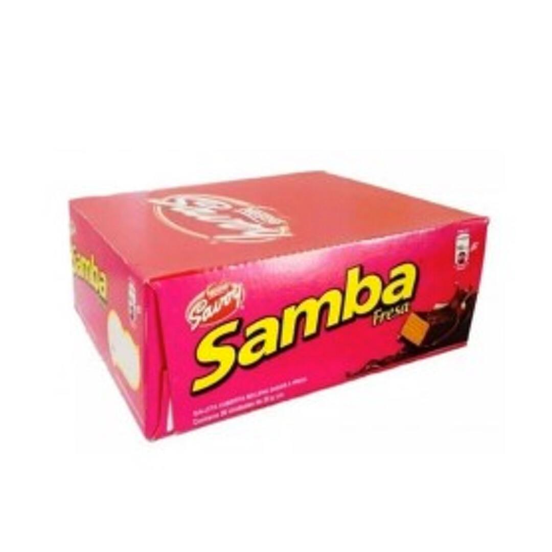 SAMBA Strawberry Display 20 Units/32g