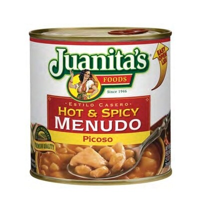 Juanita's Hot And Spicy Menudo 709h