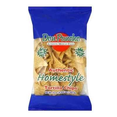 Don Pancho Chips Mexican Style Family Sizs 567g