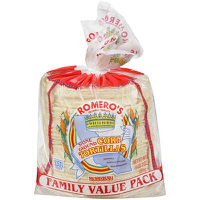 Romero Corn Tortilla 50 ct