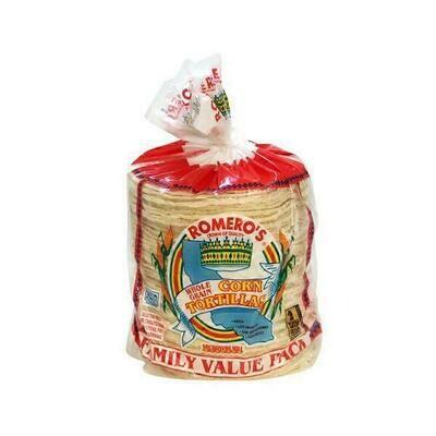 Romero Corn Tortilla 70 ct