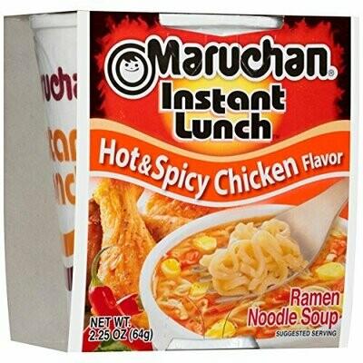 Maruchan Hot & Spicy Chicken Soup 2.25 oz