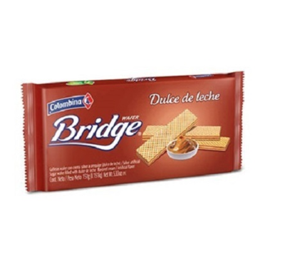 Bridge wafer Dulce de Leche 151 G