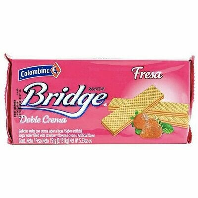 Bridge wafer strawberry