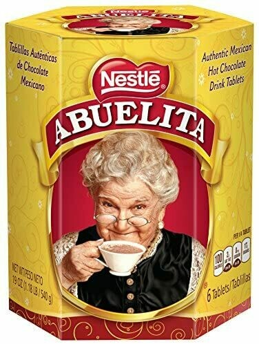 Nestle Chocolate Abuelita 6 Tablas 19 Oz