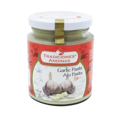 Tradiciones Andinas Garlic Paste