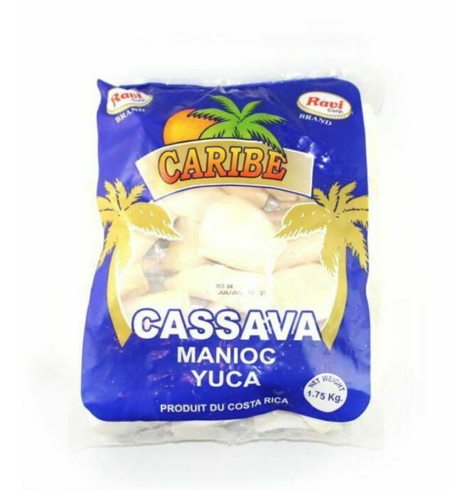 Caribe Cassava Frozen Yuca 1750g