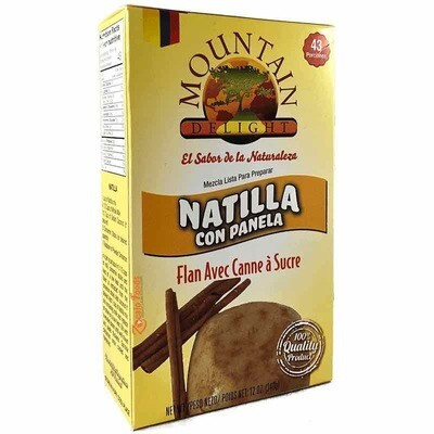 Mountain D  Natilla Panela 12 Oz