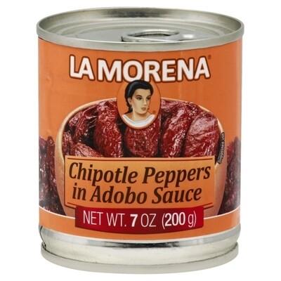 La Morena Chipotle Peppers 7oz