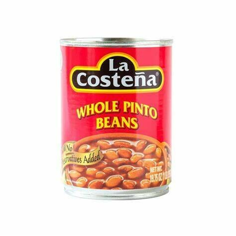 La Costena Whole Pinto Beans 16.22 Oz