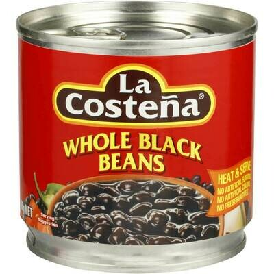 La Costena Whole Black Beans