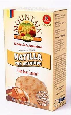 Mountain Natilla Con Arequipe 340 G