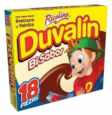 Duvalin Bisabor Hazelnut 18 Unidades