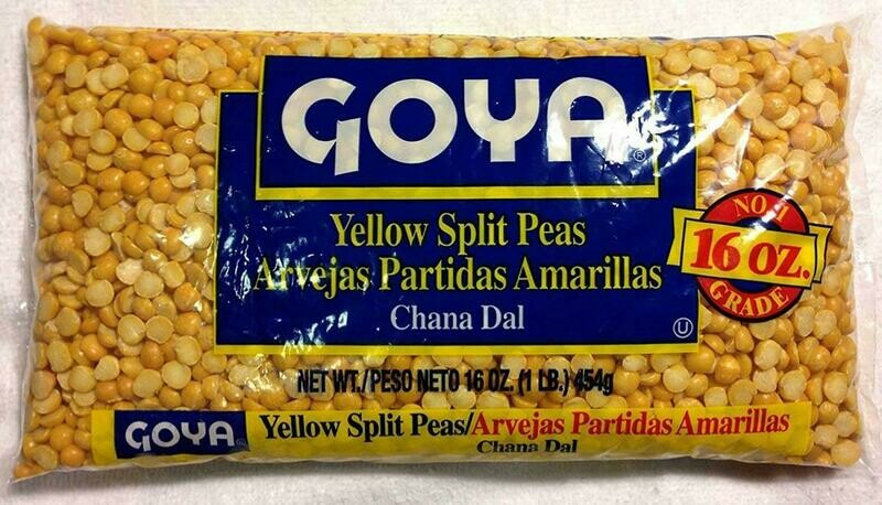 Goya Yelloe Split Peas 16oz