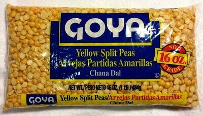 Goya Yelloe Split Peas 16oz