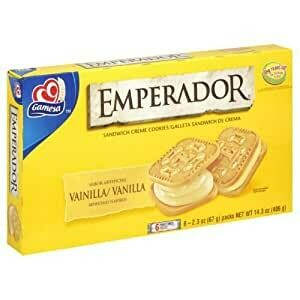 Emperador Vanilla Six Pack 406g