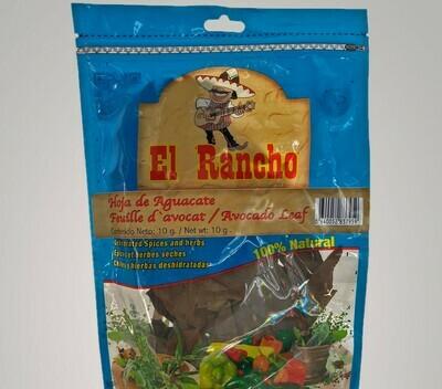 El Rancho Hoja De Aguacate 10g