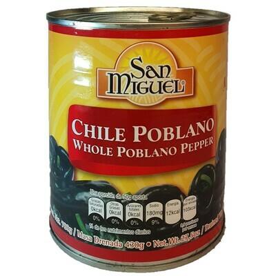 San Miguel Chiles Publanos 430g