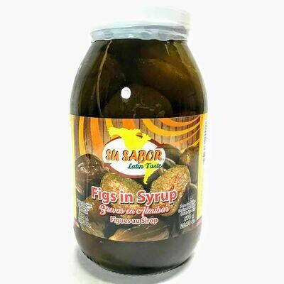 Su Sabor Figs In Syrup 480g