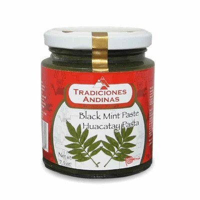 Tradiciones Andinas Black Mint Paste 213 G