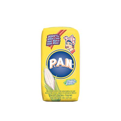 pan white corn