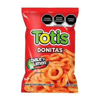 Totis Donitas Chile Y Limon 50g