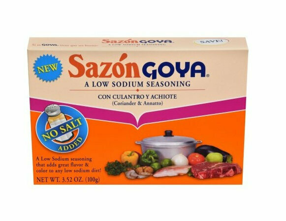 Sazon Goya Low Sodium