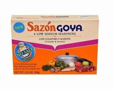 Sazon Goya Low Sodium