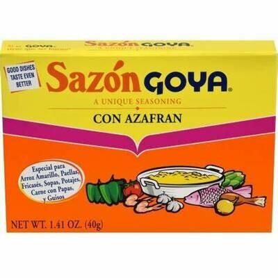 Sazon Goya Con Azafran 100
