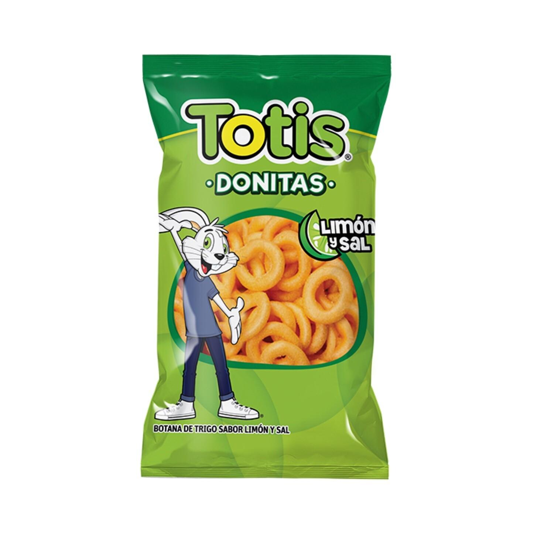 Totis Donitas Limon Y Sal 50 gr
