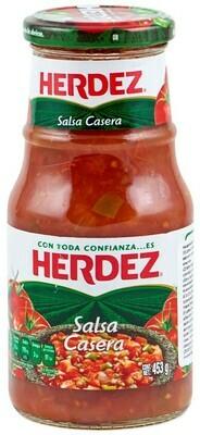 Herdez Salsa Casera 453 G