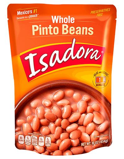Isadora Whole Pinto Beans 454 G