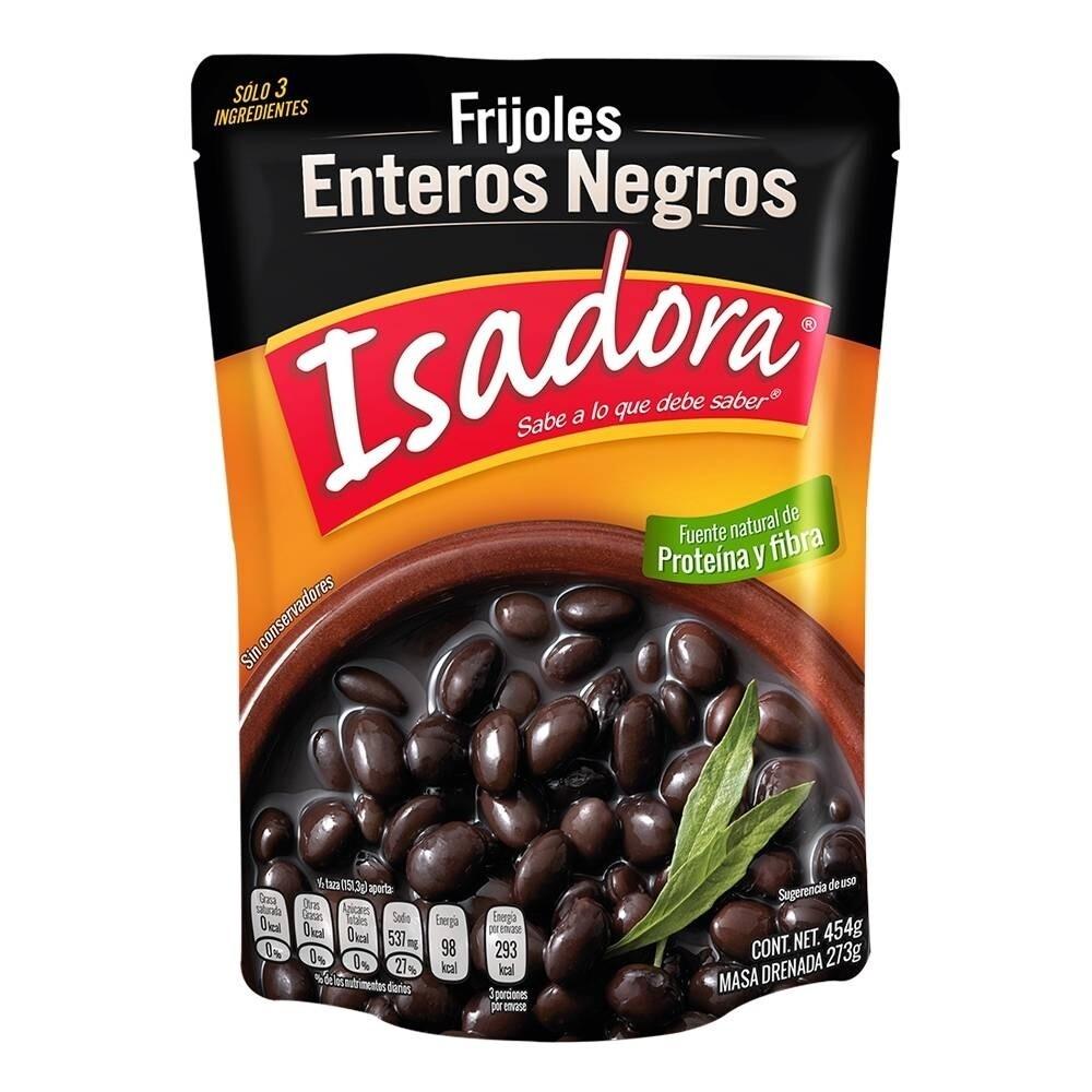 Isadora Whole Black Beans 454 G